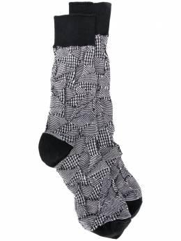Issey Miyake Men носки в технике пэчворк ME06AI001