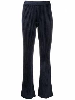 Mrz расклешенные брюки в рубчик 19030605
