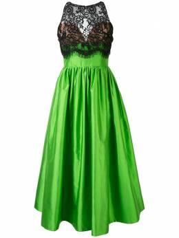 Rasario расклешенное платье с кружевной вставкой 0061S205