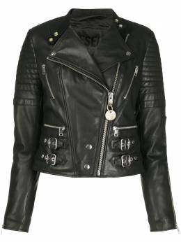 Diesel стеганая байкерская куртка с пряжкой 00SF0D0IAXC