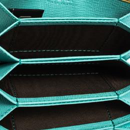 Fendi Multicolor Leather Elite Accordion Card Case 287595