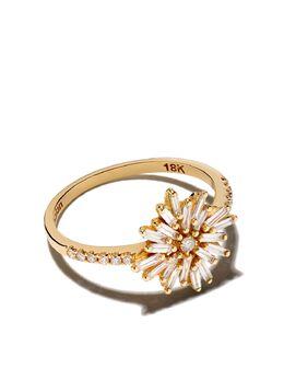 Suzanne Kalan золотое кольцо с бриллиантами BAR222YG55