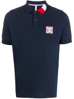 Sun 68 рубашка поло с контрастным воротником A30111