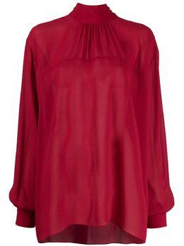 Rochas прозрачная блузка оверсайз ROPQ600727RQ380100