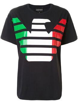 Emporio Armani футболка с логотипом 3H2T9A2J91Z