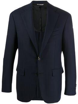 Canali строгий пиджак узкого кроя CF0257225280