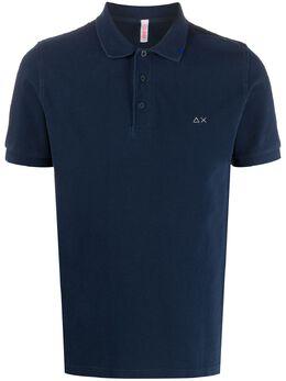 Sun 68 рубашка поло с логотипом A30101