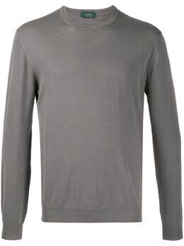 Zanone рубашка поло тонкой вязки 812299ZJ384
