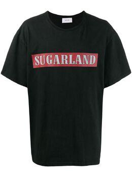 Rhude футболка с принтом Sugarland 07MS20003