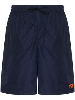 Y-3 плавки-шорты с логотипом FN5716