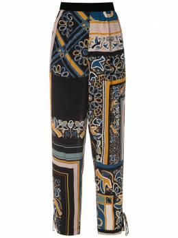 Martha Medeiros брюки с принтом F19P0009