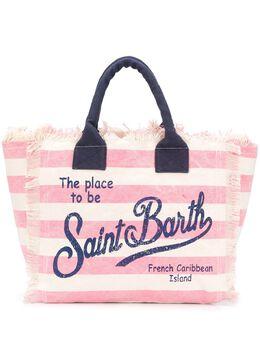 Mc2 Saint Barth сумка-тоут Vanity в полоску VANITY