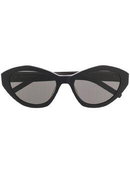 Saint Laurent Eyewear солнцезащитные очки SL M60 610925Y9901