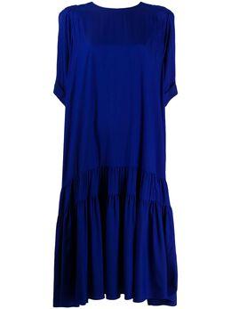 Rochas платье-трапеция с короткими рукавами ROPQ501826RQ281500