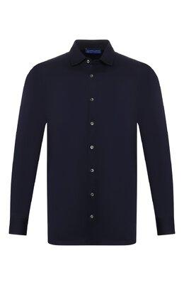 Хлопковая рубашка Andrea Campagna 60129/73700