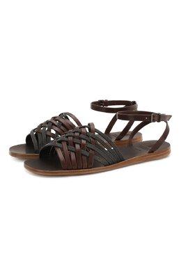Кожаные сандалии Brunello Cucinelli MZSLC1779