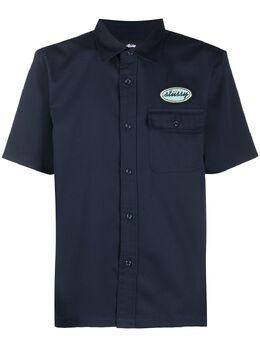 Stussy рубашка с короткими рукавами и логотипом 1110091