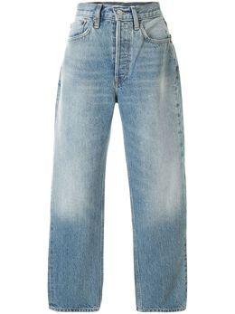 Re/Done джинсы прямого кроя с завышенной талией 1403WSTV27