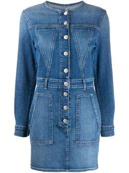3x1 джинсовое платье мини Jun WD0040986