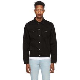 Frame Black Denim LHomme Jacket LHJK795