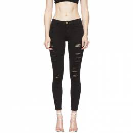 Frame Black Le Color Ripped Jeans COLR403