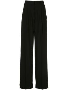 Proenza Schouler фактурные брюки с завышенной талией R2036000BY106M