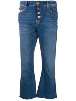 Tommy Jeans укороченные джинсы с пуговицами DW0DW081351