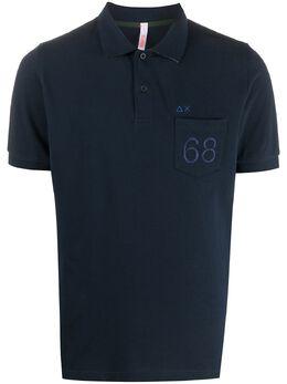Sun 68 рубашка поло с логотипом A30105