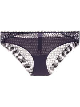 Calvin Klein Underwear кружевные трусы-брифы с перфорацией 000QF5895E