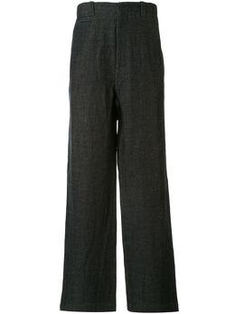 Kent & Curwen строгие брюки прямого кроя K3761ER04039