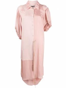 Ann Demeulemeester платье миди со вставками 20012210P155