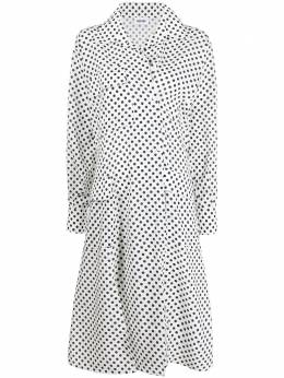 Each X Other платье-рубашка с карманами и узором в горох SS20G12161