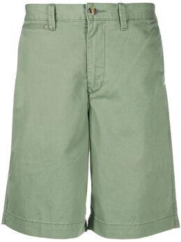Polo Ralph Lauren шорты-бермуды с вышитым логотипом 710740571
