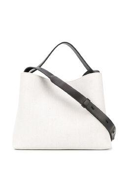 Aesther Ekme фактурная сумка с контрастным ремешком MSC
