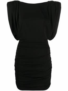 John Richmond платье с драпировкой на рукавах RWP20246VE