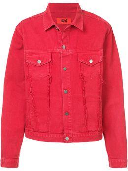424 джинсовая куртка с пуговицами 424CSS180007