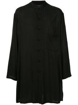 Yohji Yamamoto рубашка оверсайз с длинными рукавами HNB51232