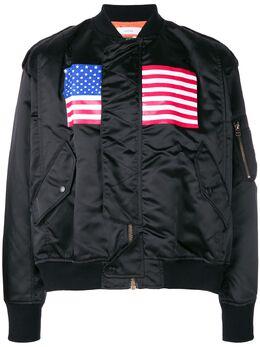 Facetasm укороченная куртка-бомбер RBJKU12