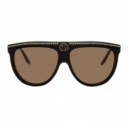 Gucci Black Flat Top Sunglasses GG0732S