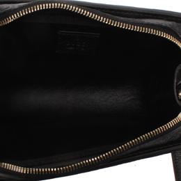 Gucci Black Guccissima Leather Clutch Bag 287836