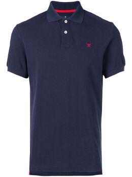 Hackett рубашка-поло с вышитым логотипом HM562363