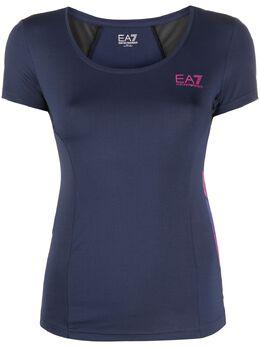 Ea7 футболка с логотипом 3HTT11TJ56Z