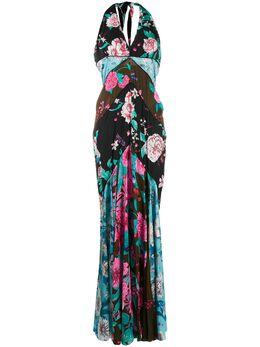 Dvf Diane Von Furstenberg платье макси с цветочным принтом 14736DVFNOELLE