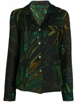 Alanui пижамная рубашка с принтом Monkey Jungle LWGA004S20FAB0018787