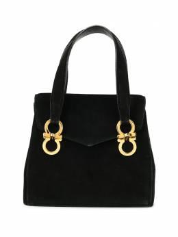 Salvatore Ferragamo Pre-Owned сумка на плечо с декором Gancini AT215671