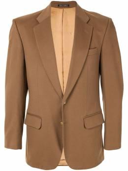 Burberry Pre-Owned пиджак с длинными рукавами B105267