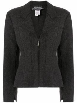 Chanel Pre-Owned пиджак 1999-го года строгого кроя 99AP14021V08014AE737