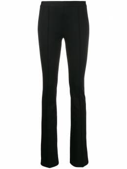Helmut Lang брюки узкого кроя без застежки J06HW203