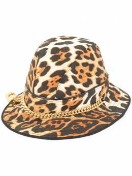Christian Dior шляпа с леопардовым узором pre-owned PAY04001A