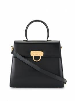 Salvatore Ferragamo Pre-Owned сумка с декором Gancini и ремнем AT210536